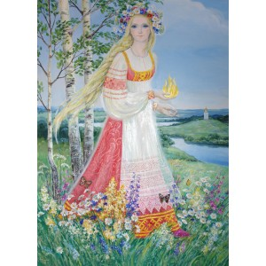 Lada Bohorodička - matka väčšiny svetlých Bohov